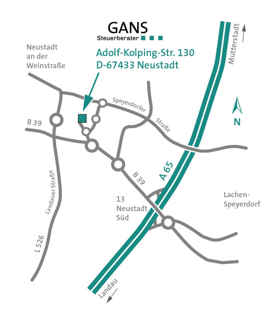 Steuerberater GANS Adolf-Kolping-Str. 130 D-67433 Neustadt